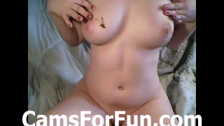 Chubby Girl On Live Webcam Shits And Plays For Us