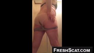 Girl Shits Herself Through Two Sets Of Panties