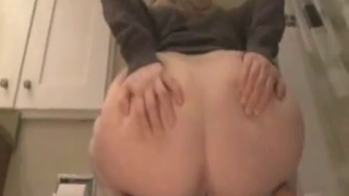 Hot Girl With Giant Ass Takes A Shit On Webcam For Us