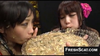 Very Hot Asians Puking All Over Each Other And In Bowl On Webcam Very Graphic Vomit Fisting Scene