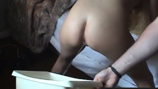 Scat Couple Gets Together For Enema Play And Messy Sex On Webcam